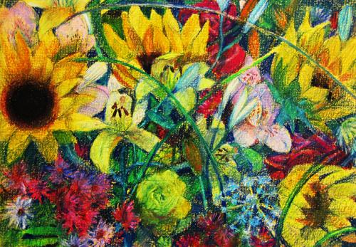 Солнечная палитра цветы галерея